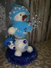 Снеговик-мышевик!