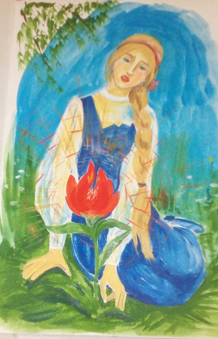 Аленький цветочек картинки к сказке для детей, наступающим