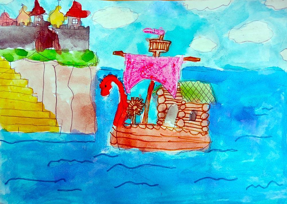 рисунок к сказке о царе салтане картинки такие способы
