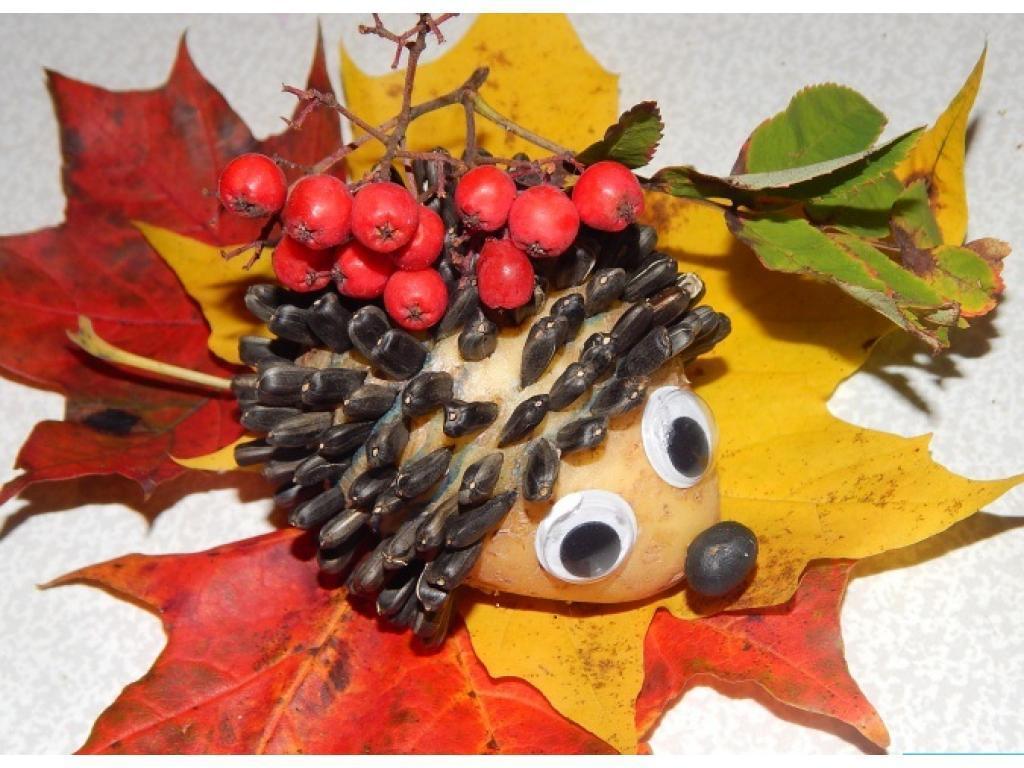Фотки про осень поделки