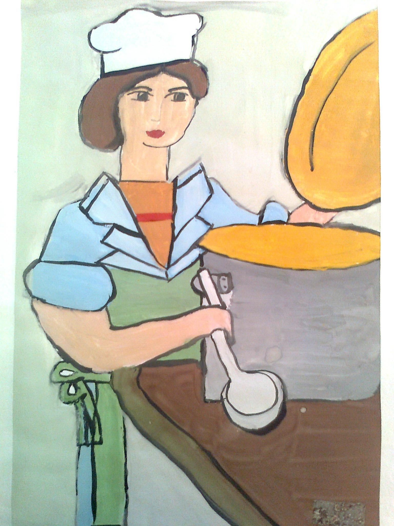 рисунки профессии людей сделан небольших
