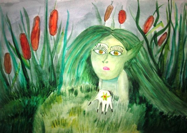 Картинки с кикиморой болотной детские, приколы