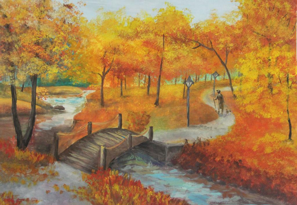 Картинки осенняя листва рябина самый