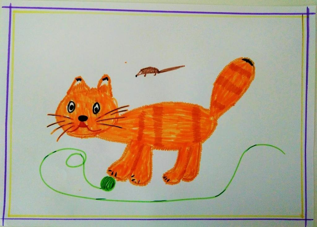 Рисунки мой домашний питомец