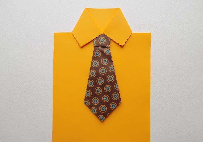 Открытки галстук своими руками на 23 февраля, картинки
