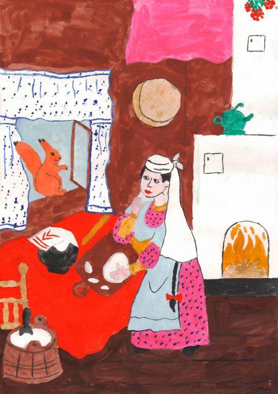 Сказка три дочери с картинками