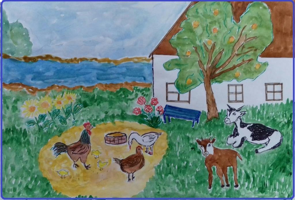 картинки моя деревня мой край край является самым